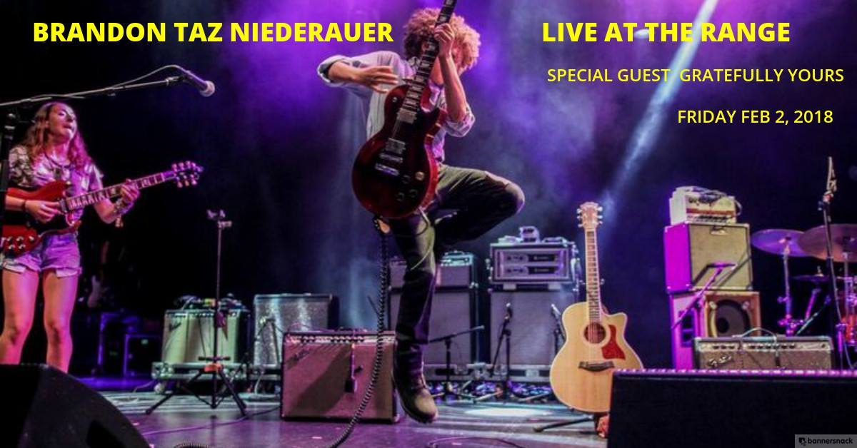 Brandon Niederauer Taz guitar virtuouso grateful dead music live downtown ithaca kevin black gratefully yours