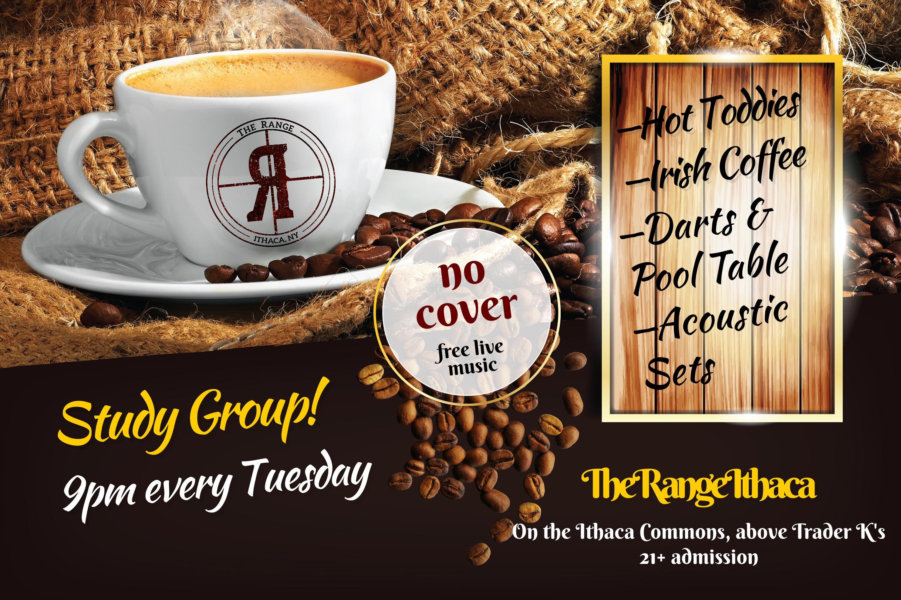 study group the range ithaca live music cafe late night irish coffee andrew alling singer songwriter