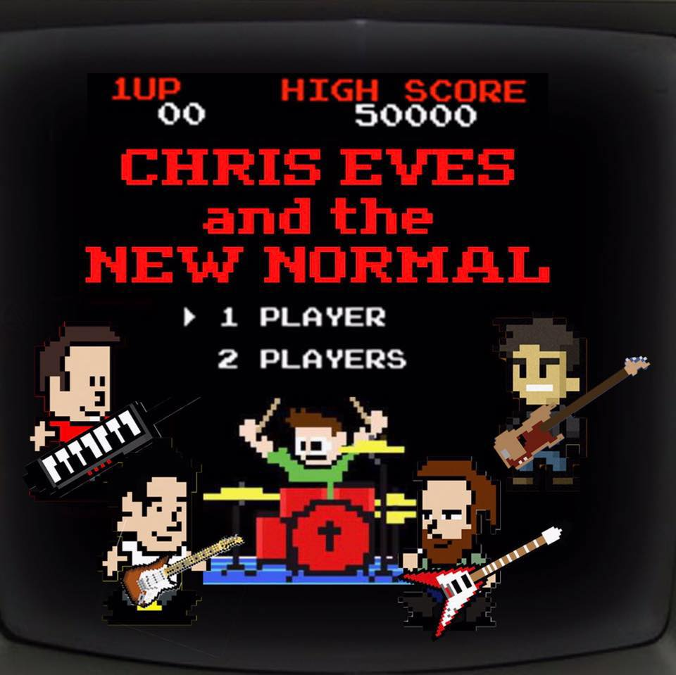 chris eves and the new normal range ithaca live music jam rock nintendo gaming