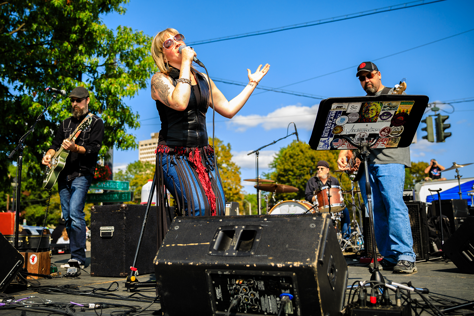 rebecca and the soul shakers brian spencer blues project rock roll ithaca range live music downtown commons twithaca