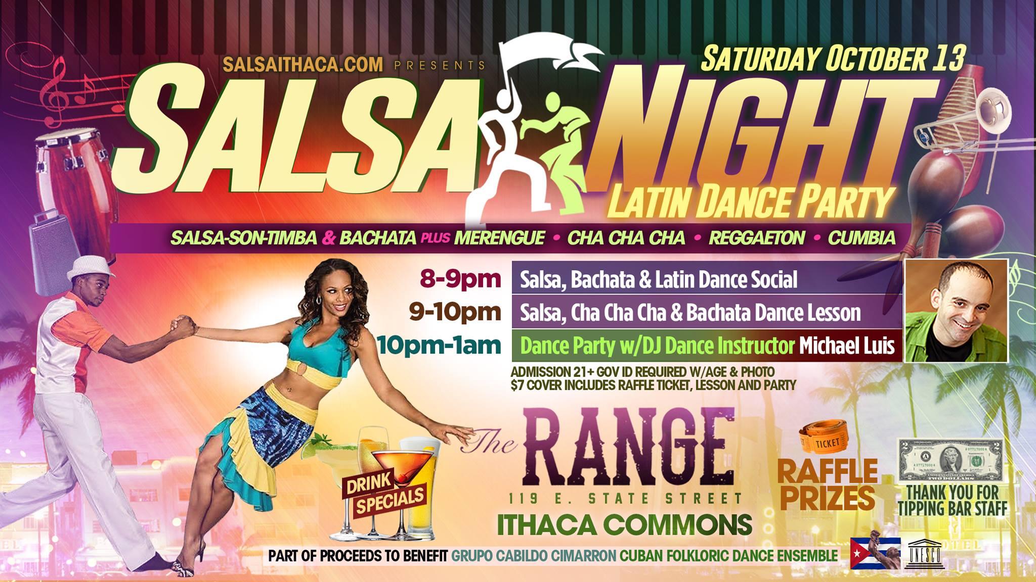 Salsa Night at The Range