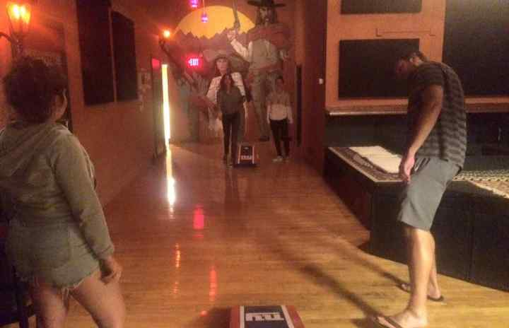 Did we mention we have  Corn-Hole all day everyday!?