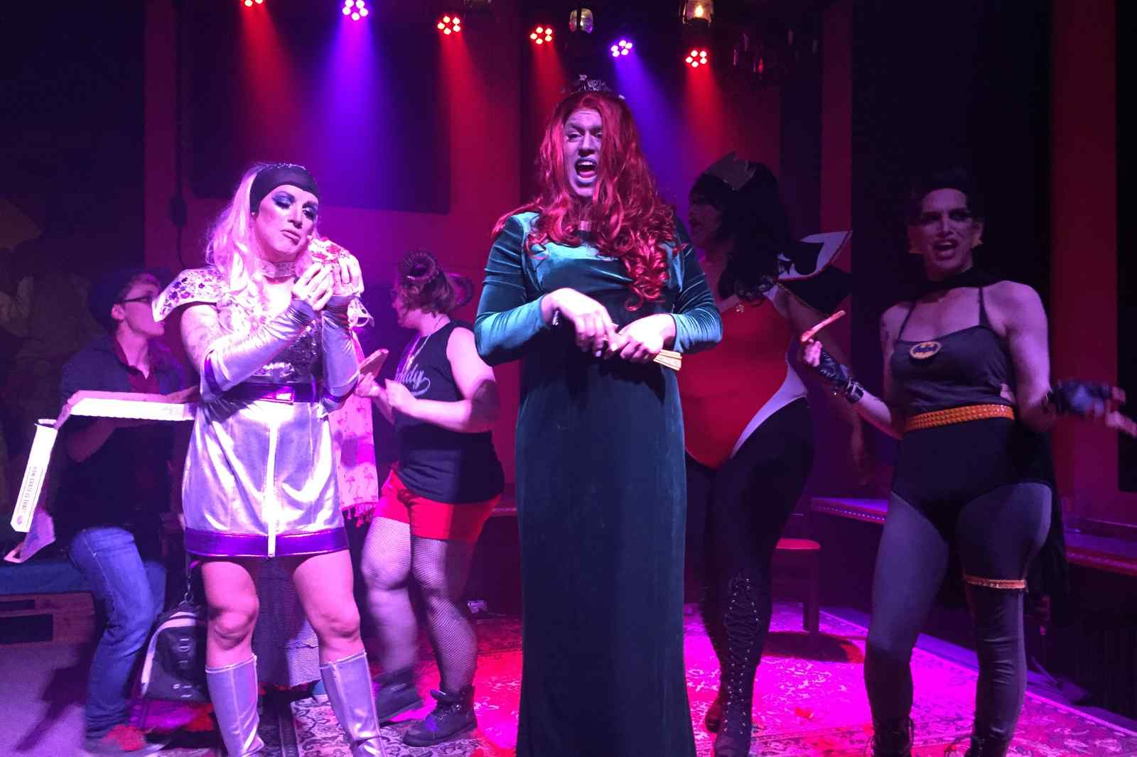 drag show ithaca lgbt lgbtq lgbtqa rupaul rupauls race queen king gay queer downtown commons the range